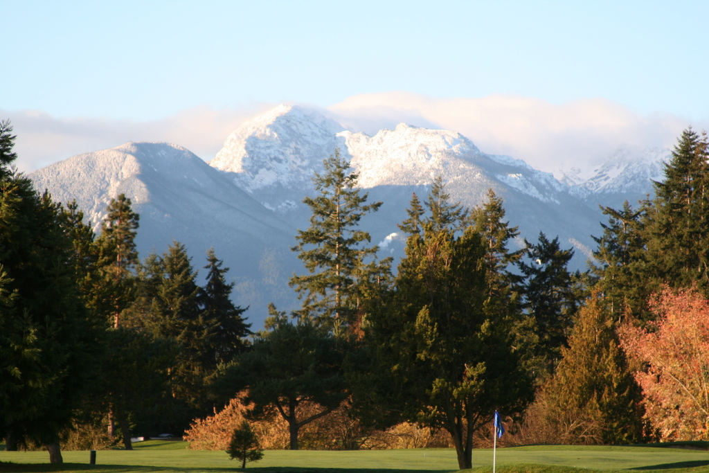 October view from first Sequim House