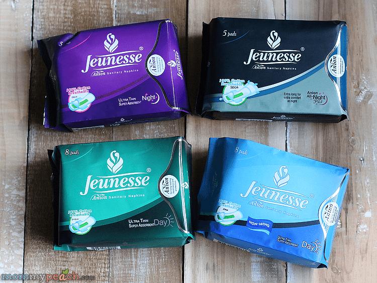 #PositivelyBetter with Jeunesse Anion Sanitary Napkin