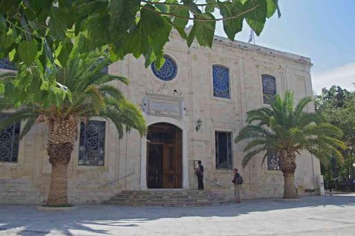 Héraklion (Ηράκλειο), église Saint-Titus.