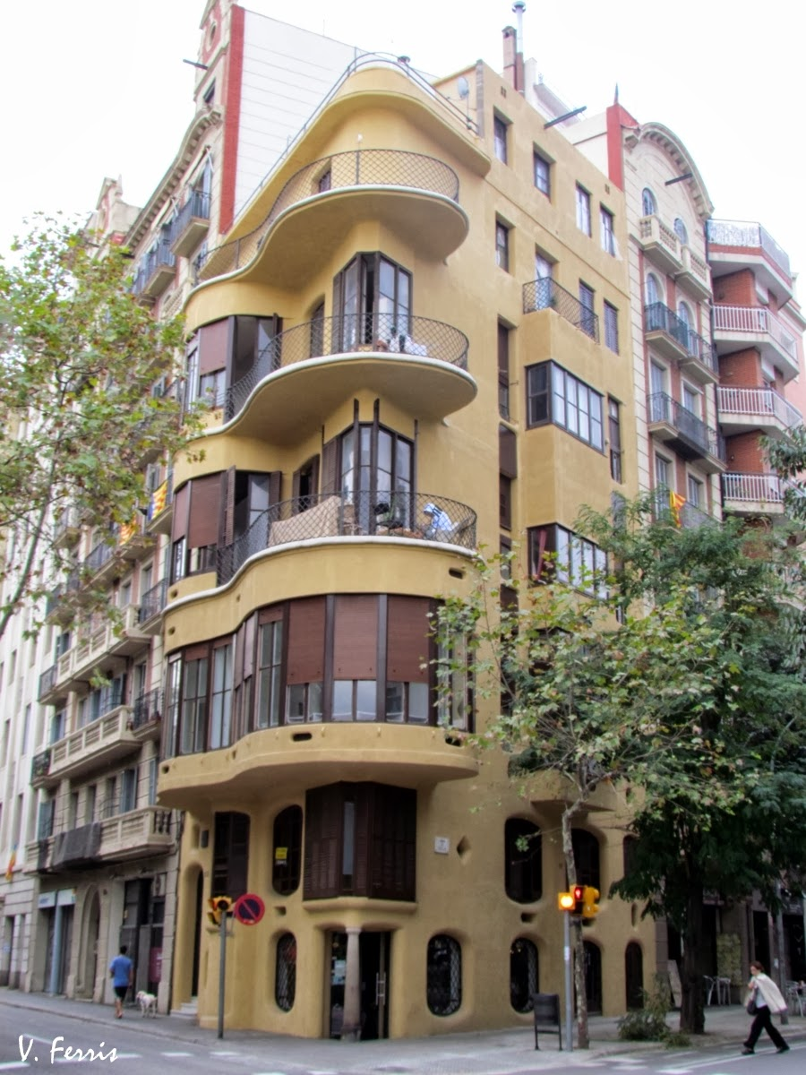Casa planells barcelona modernista - Casa modernista barcelona ...