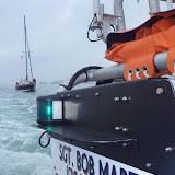 Poole ILB Sgt. Bob Martin (Civil Service No. 50) towing an 8m yacht - 23 July 2013.  Photo credit: RNLI/Poole