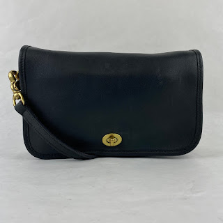 Coach Classic Midnight Blue Shoulder Bag