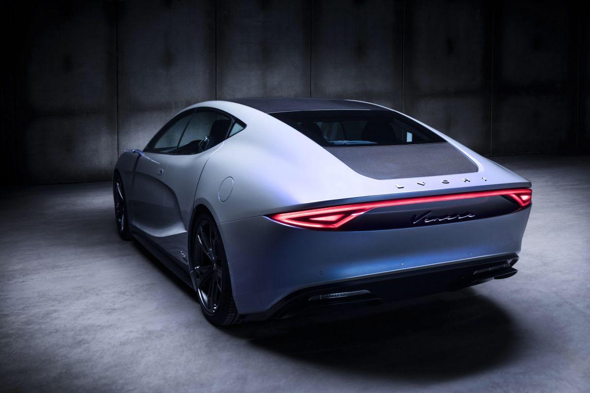 Sedan Automobile: Venere Concept