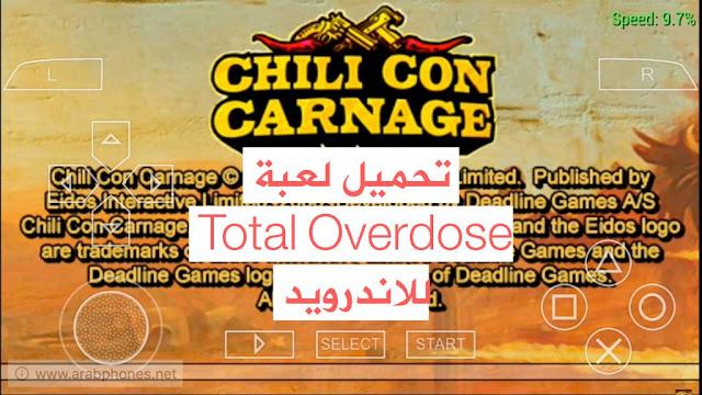 تحميل لعبة Total Overdose للاندرويد ppsspp