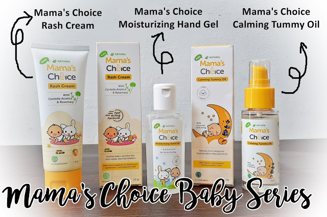 Mama's Choice Baby Moisturizing Hand Gel