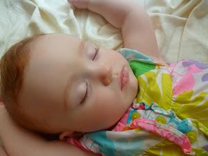 Karina sleeping