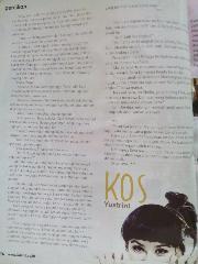 [Kos] Percikan dimuat di majalah Gadis no. 26 26 September - 06 Oktober 2014
