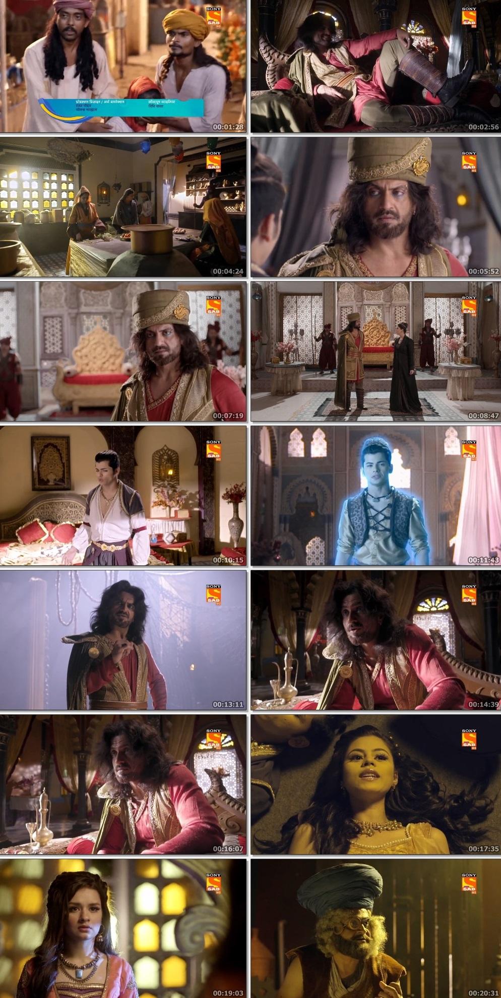 Screenshots Of Hindi Show Aladdin – Naam Toh Suna Hoga 2019 Episode 293 300MB 720P HD