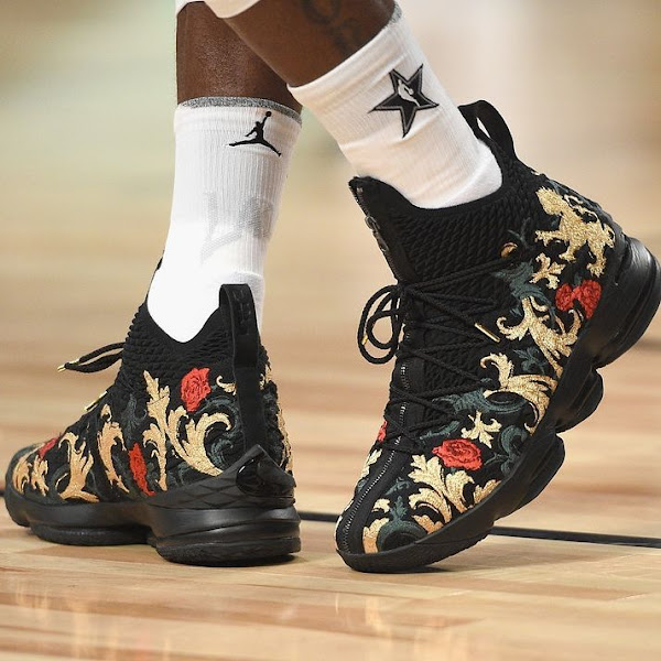 ICYMI LeBron James Wore 5 Different Shoes During the AllStar Weekend