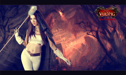 Ngọc Quyên biến thành nữ thần Vạn Vương Chi Vương 5