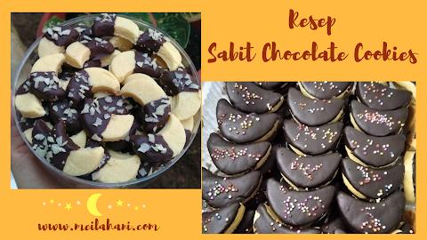 Resep Sabit Chocolate Cookies yang Enak dan Praktis