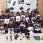 Black Day Celebrated by Playgroup - Morning Section at Witty World, Chikoowadi (2017-18)