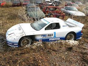 Abandoned Mazda RX7