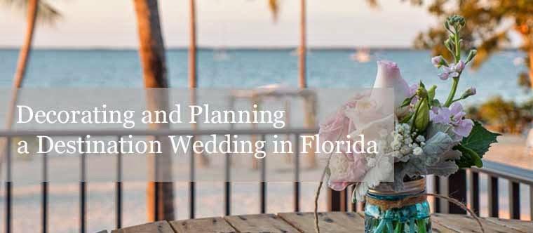 Planning a destination wedding in Florida