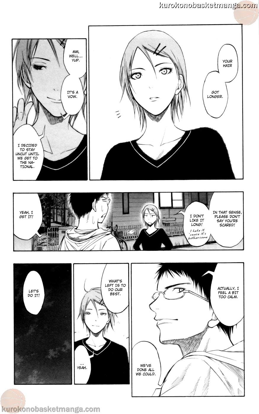 Kuroko no Basket Manga Chapter 81 - Image 06