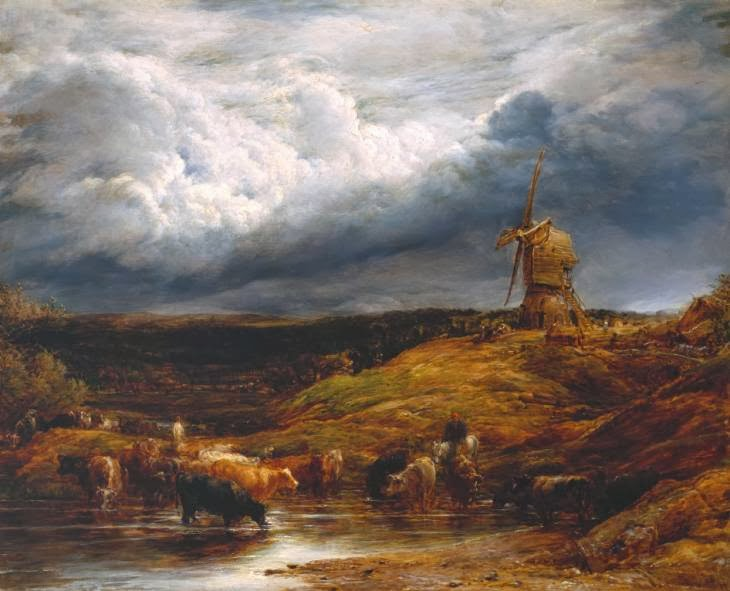 John Linnell - Landscape(`The Windmill')