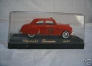 4518 Chevrolet Sedan Pompiers 1950