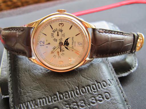 Bán đồng hồ Patek philippe 5146r – trăng sao – vàng hồng 18k – dây da – size 39