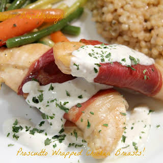 Prosciutto Wrapped Chicken Breasts!.