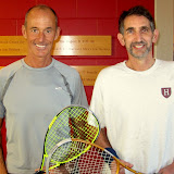 Men's 55+: Finalist - Sam Thayer (University Club); Champion - Bill Kaplan (Harvard Murr Center)