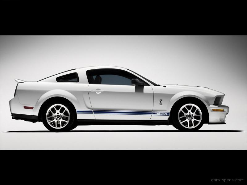 2009 ford shelby gt500 coupe specifications pictures prices. Black Bedroom Furniture Sets. Home Design Ideas