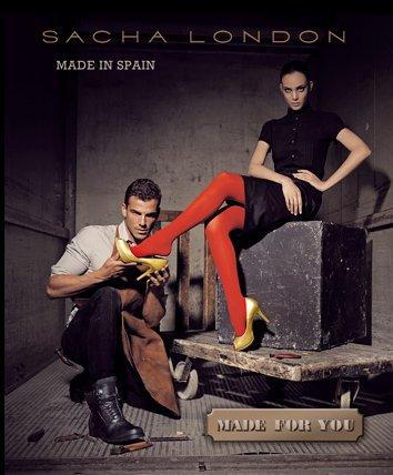 Sacha London, catalogo Otoño Invierno 2011