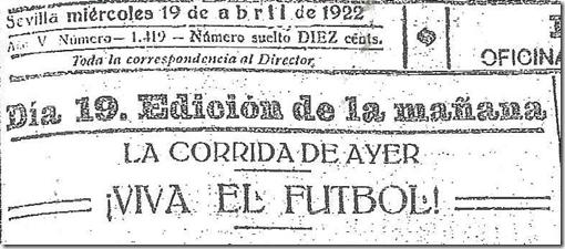 La Union 19 Abril 1922