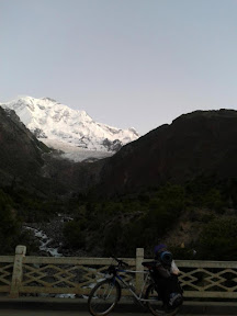 Sunset at Rakaposhi