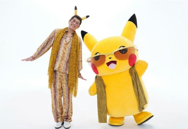 Pikachu Pokémon Feat Pikotaro - Pen Pikachu Apple Pen
