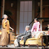 Joanne Westervelt, Richard Harte, Stephanie G. Insogna and Richard Michael Roe in THE ROYAL FAMILY (R) - December 2011.  Property of The Schenectady Civic Players Theater Archive.