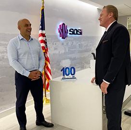 SOSi CEO Julian Setian Receives Second Wash100 Award From ArchIntel, Execuitve Mosaic CEO Jim Garrettson