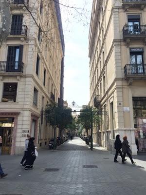 Barcelona shopping streets