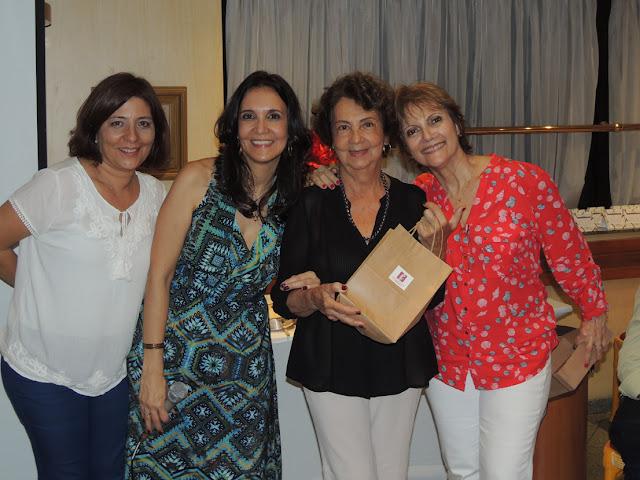 Confraternizacao 2015  Angela Bonisolo, Tania Guerreiro, Beth Guerreiro e Regina Palladino