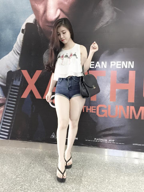 Hot girl Mẫn Vy