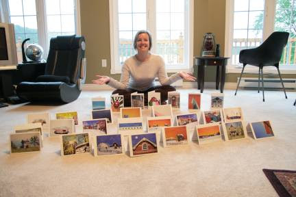 My first set of greeting cards for stores - Newfoundland Artist Keli-Ann Pye-Beshara