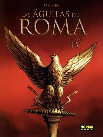 """El """"Aquila romana"""", símbolo de poder (que luego usó Hitler…)"""