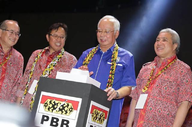 #PRU14 : Isu mengenai Najib, isteri tiada kaitan dengan S'wak - Abg Johari