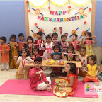 Rakshabandhan Celebration of Nursery Afternoon at Witty World, Chikoowadi (2017-18)
