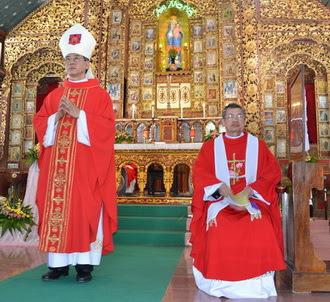 Giáo xứ Dưỡng Điềm đón cha xứ mới