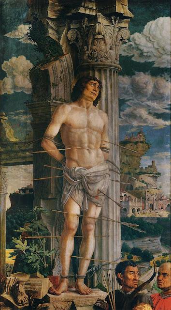 Andrea Mantegna - St Sebastian