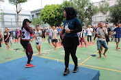 Rehabilitasi Sosial, Lapas Narkotika Gunung Sindur gelar Senam untuk WBP