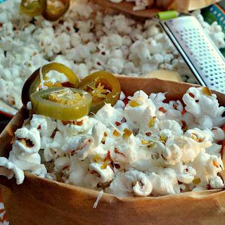 Jalapeno Parmesan Popcorn