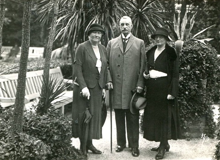 Fromm, Friedrich and wife Anna
