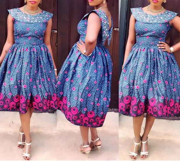 Pictures of Latest Ankara Gown Styles 2017