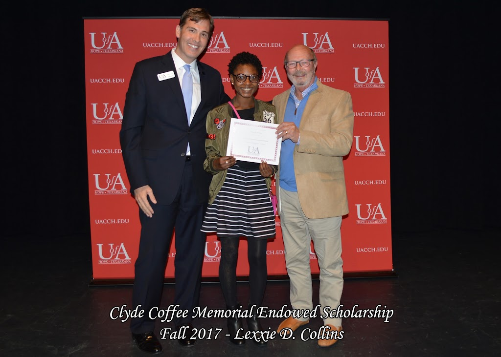 Fall 2017 Foundation Scholarship Ceremony - Clyde%2BCoffee%2BMemorial%2BEndowed%2BScholarship.jpg