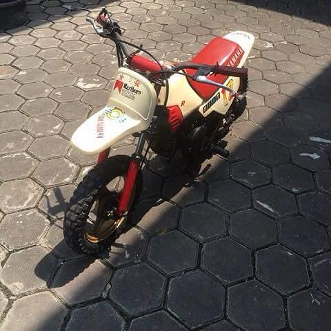 Dijual Motor Trail Mini Cbu Yamaha Pw50 Jakarta Lapak Motor