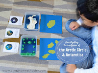 Landforms of the Arctic Circle and Antarctica