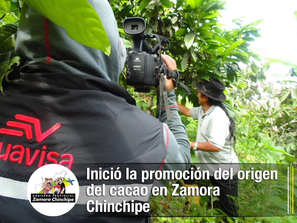 INICIÓ LA PROMOCIÓN DEL ORIGEN DEL CACAO EN ZAMORA CHINCHIPE