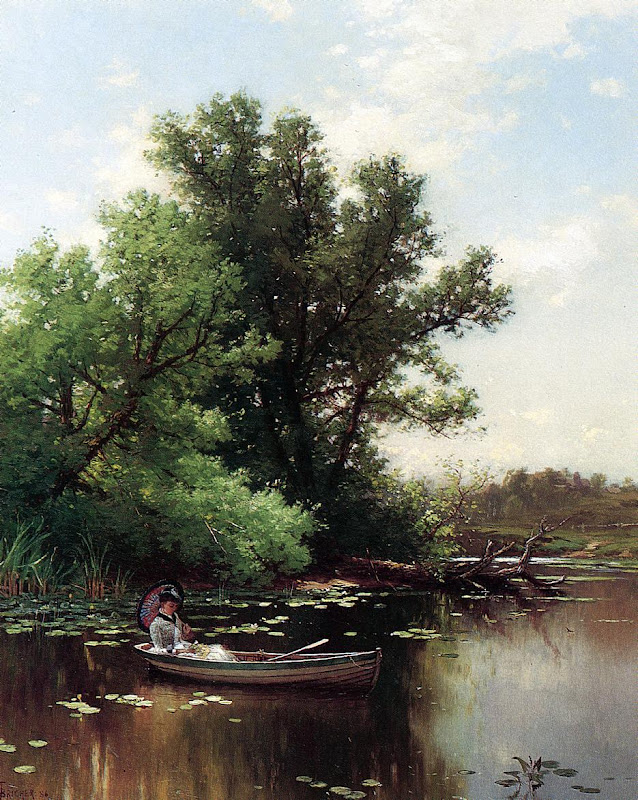 Alfred Thompson Bricher - Drifting