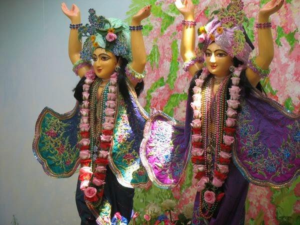 16, 17, 18 июля - приезд ЕС Партха Саратхи Даса Госвами в Запорожье, инсталляция Божеств